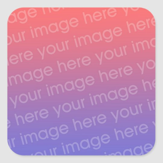 Square Sticker Photo 4 By 3
