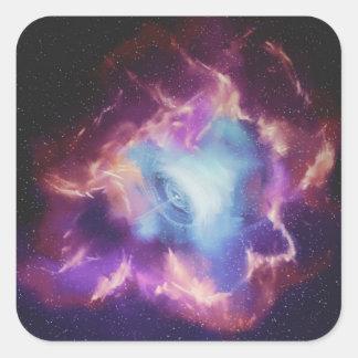 Square Sticker: Supernova Square Sticker