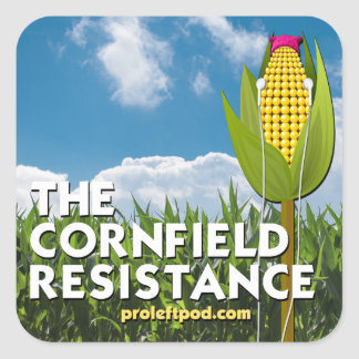Square Stickers (6/pg) - The Cornfield Resistance