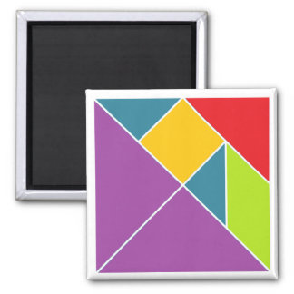Square Tangram Magnet