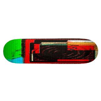 square target skateboard
