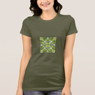 Square type (green) T-Shirt