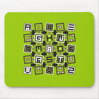 Square type mouse pad