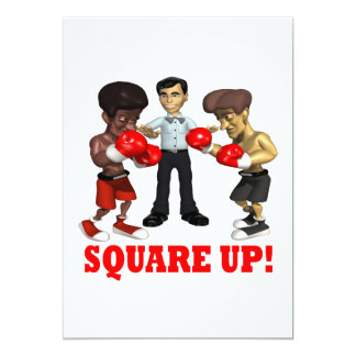 Square Up Card