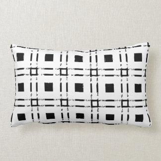 square white black public garden black white lumbar pillow