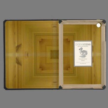 Square wooden pattern iPad mini retina case