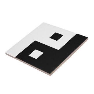 Square Yin Yang Tile