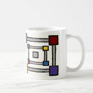 Squared (alternate) coffee mug
