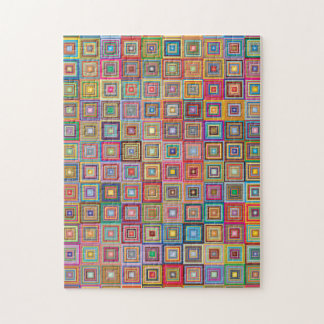 Squared Jigsaw Puzzle