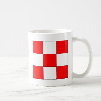 Squared, Panama flag Coffee Mug