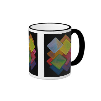 Squared Rainbow - Mug