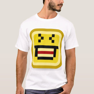 squared smiley big laugh T-Shirt