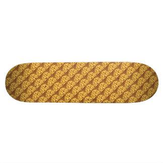 Squared standard repeated skateboard deck