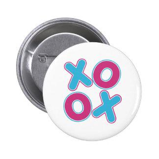 Squared XOXO Button