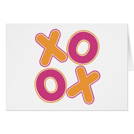 Squared XOXO Card