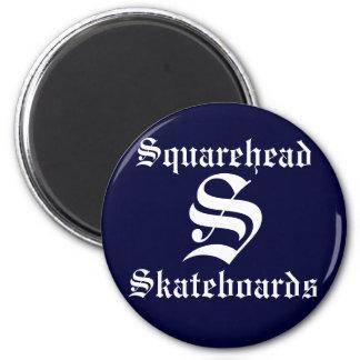 Squarehead Skateboards Magnet