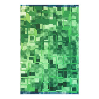 squares-1262--green stationery