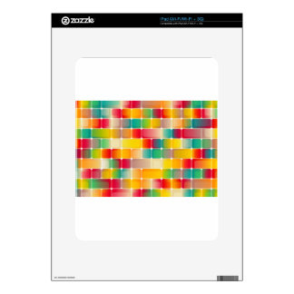 Squares #2 skins for iPad