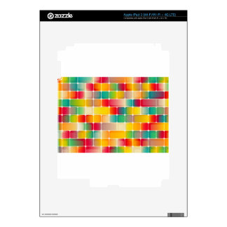 Squares #2 skins for iPad 3