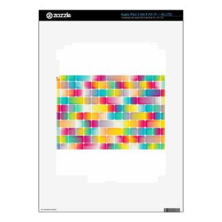 Squares #3 iPad 3 decal