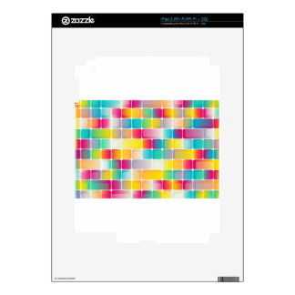 Squares #3 skin for iPad 2