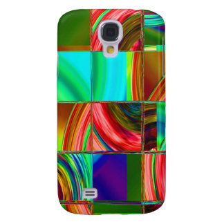 Squares 3G 3FS iPhone Case Samsung Galaxy S4 Covers
