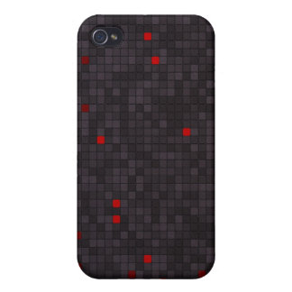 Squares Abstract iPhone 4/4S Case