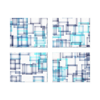 Squares Gallery Wrapped Canvas