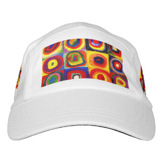squares circles  Farbstudie Quadrate kandinsky Hat