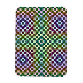 Squares Inverted Alternate Flexible Magnets