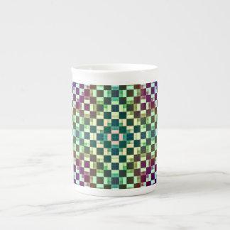 Squares Inverted Alternate Porcelain Mug