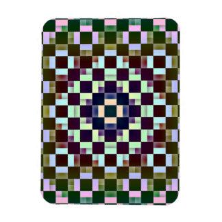 Squares Inverted Flexible Magnet