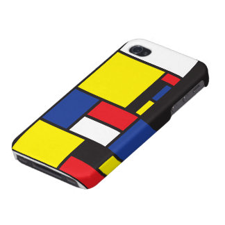Squares iPhone 4/4S Cover