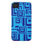 Squares iPhone 4 Cases