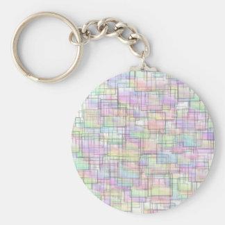 Squares Key Chain