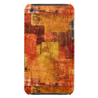 Squares on the grunge wall, abstract background iPod Case-Mate cases