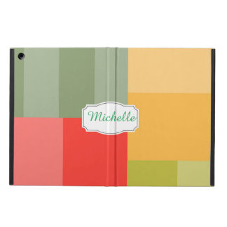 Squares&rectangles iPad Air Cover