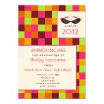 Squares & Sunglasses Graduation Announcement