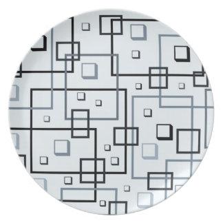 Squares. Versitile plate. Plate