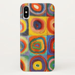 "Squares with Concentric Circles by Kandinsky iPhone X Case<br><div class=""desc"">Color Study: Squares with Concentric Circles by Wassily Kandinsky (1913) - abstract art iPhone cases.</div>"