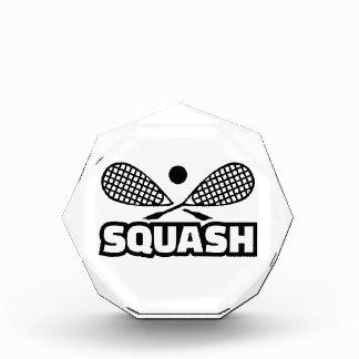 Squash Acrylic Award