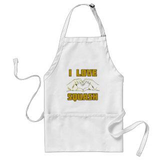 squash adult apron