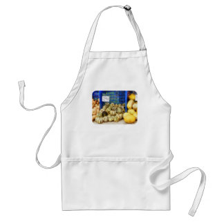 Squash at Farmer's Market Adult Apron