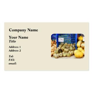 Squash at Farmer's Market Business Card