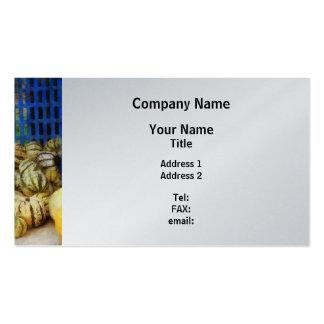 Squash at Farmer's Market - Platinum Finish Business Card