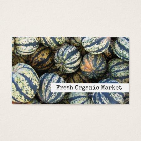 Squush Organic Farming Business Cards