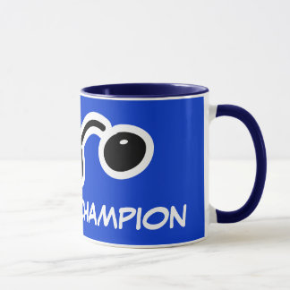 Squash champion mug for players and fans.