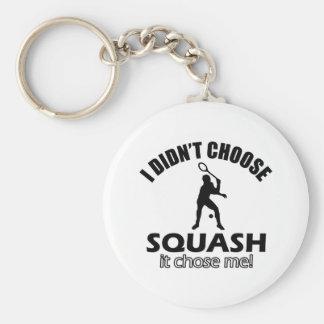 squash design keychain