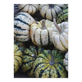 Squash Fall Harvest Card