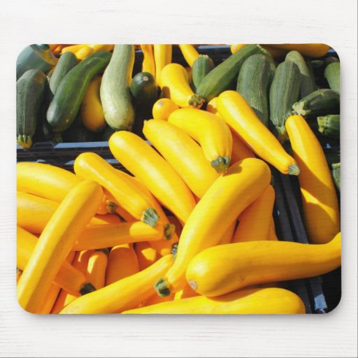 Squash in Yellow and Green Mouse Pad